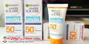 Review kem chống nắng Garnier